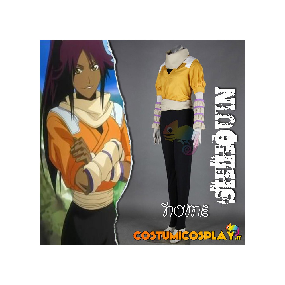 Costume Cosplay Bleach Shihouin Yorurichi