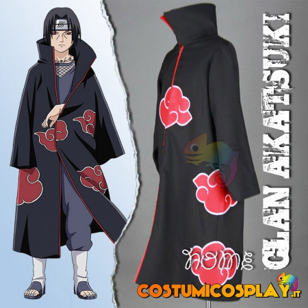 Costume Cosplay Akatsuki