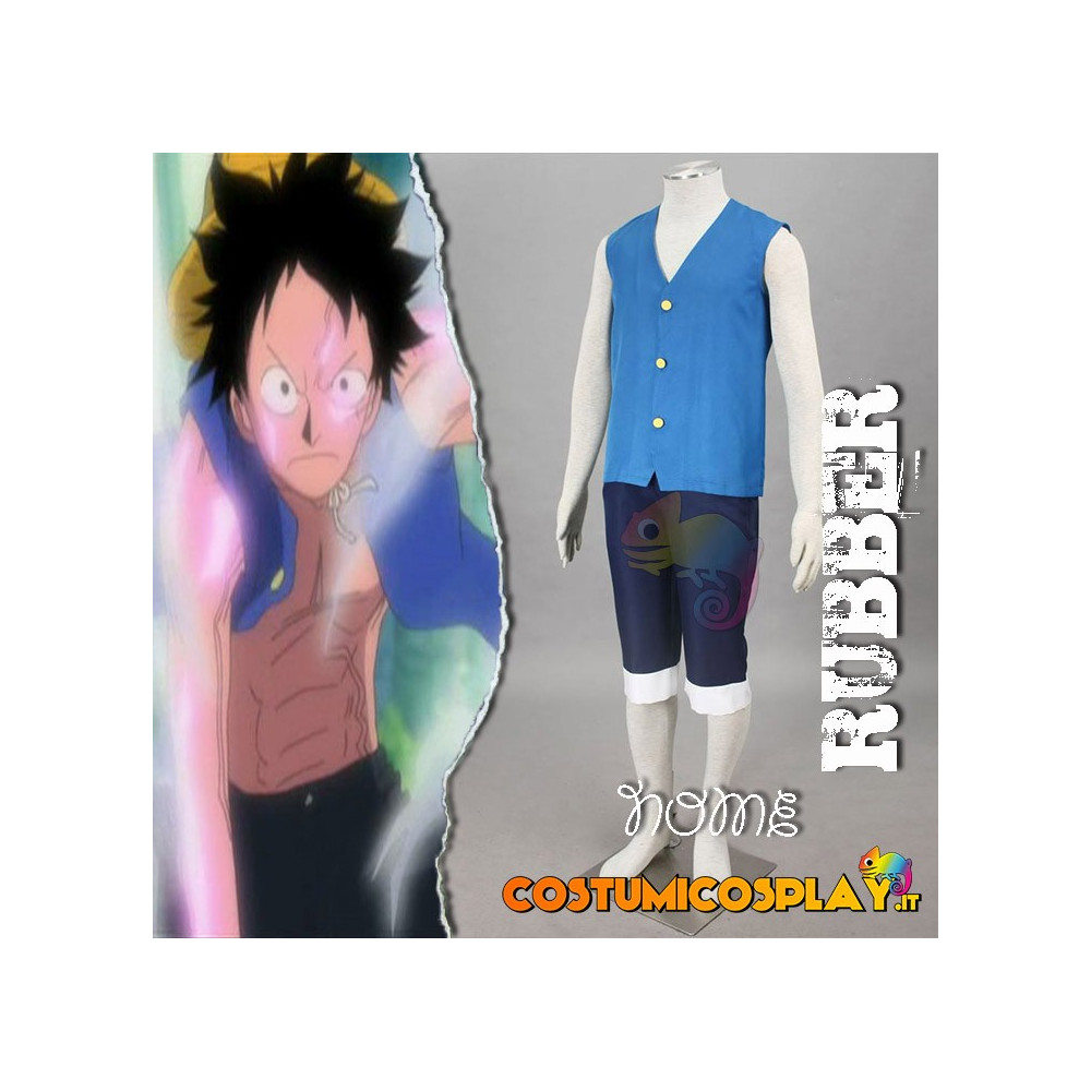 Costume Cosplay One Piece Monkey D. Rufy