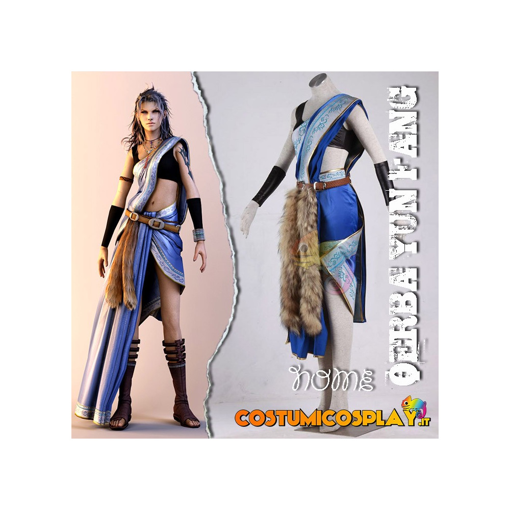 Costume Cosplay Final Fantasy XIII Oerba Yun Fang