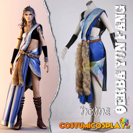 Costume cosplay Final Fantasy VII Tifa