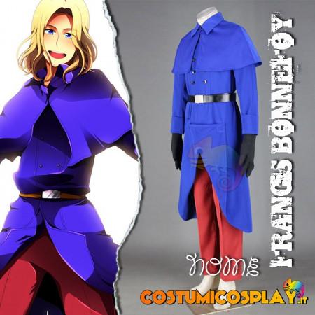 Costume Cosplay Francia Francis Bonnefoy Hetalia