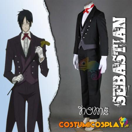 Costume Cosplay Kuroshitsuji Il maggiordomo Diabolico
