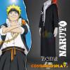 Costume Cosplay Naruto Uzumaki Konoha Gakuen Den