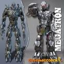 Costume armatura cosplay Megatron