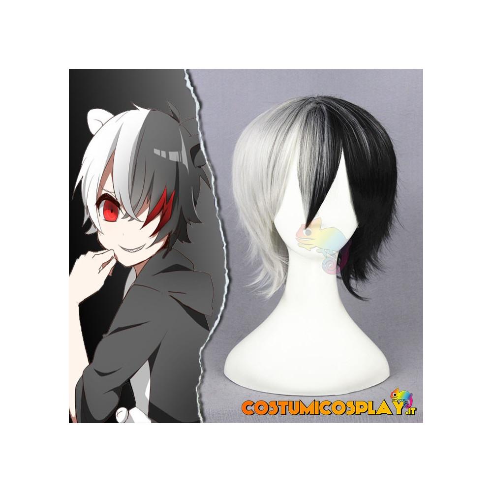 Parrucca cosplay Danganronpa Monokuma