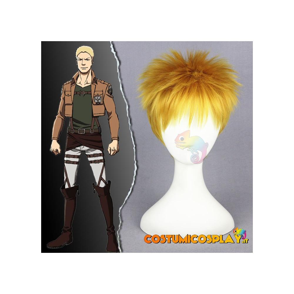 Parrucca cosplay Reiner Braun
