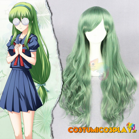 Parrucca cosplay Houjou Ayumi