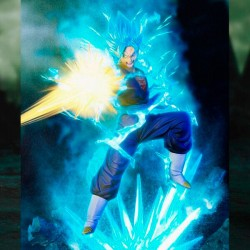 Action Figure Vegeth Super Saiyan God Super Saiyan 20 cm Esclusiva Color Edition Dragon Ball Super