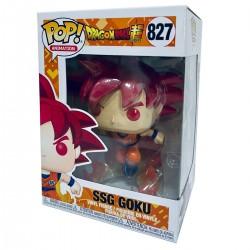 Figura POP! Goku Super Saiyan God Exclusive Dragon Ball Super