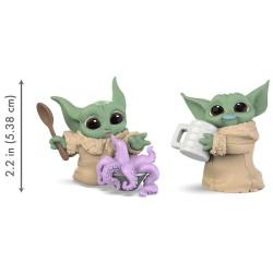 Set di 2 action figure Yoda The Child Star Wars Hasbro
