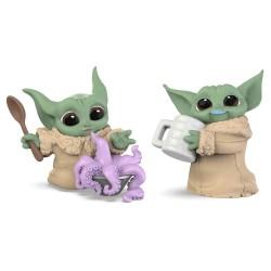 Set di 2 action figure Yoda...