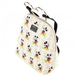 Zaino 25 cm Mickey Mouse Gold Disney Loungefly