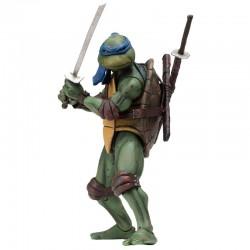 Action Figure 18 cm Leonardo Film 1990 Tartarughe Ninja NECA