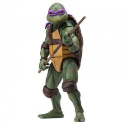 Action Figure 18 cm Donatello Film 1990 Tartarughe Ninja NECA