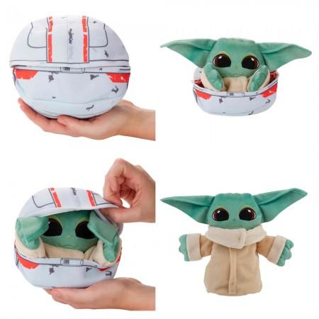 Peluche Il bambino Yoda si trasforma Star Wars