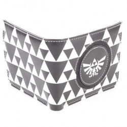Portafoglio unisex black and white Zelda Nintendo