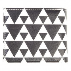 Portafoglio unisex black and white Zelda