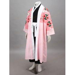 Costume Cosplay Bleach ottava divisione Shunsui capitano Kyoraku