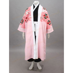 Costume Cosplay Shunsui Kyoraku tratto da Bleach