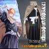 Costume Cosplay Bleach Ichigo Kurosaki con mantello e diadema