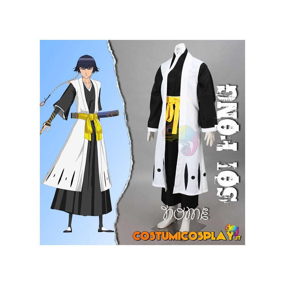 Costume Cosplay Bleach capitano Soi Fong