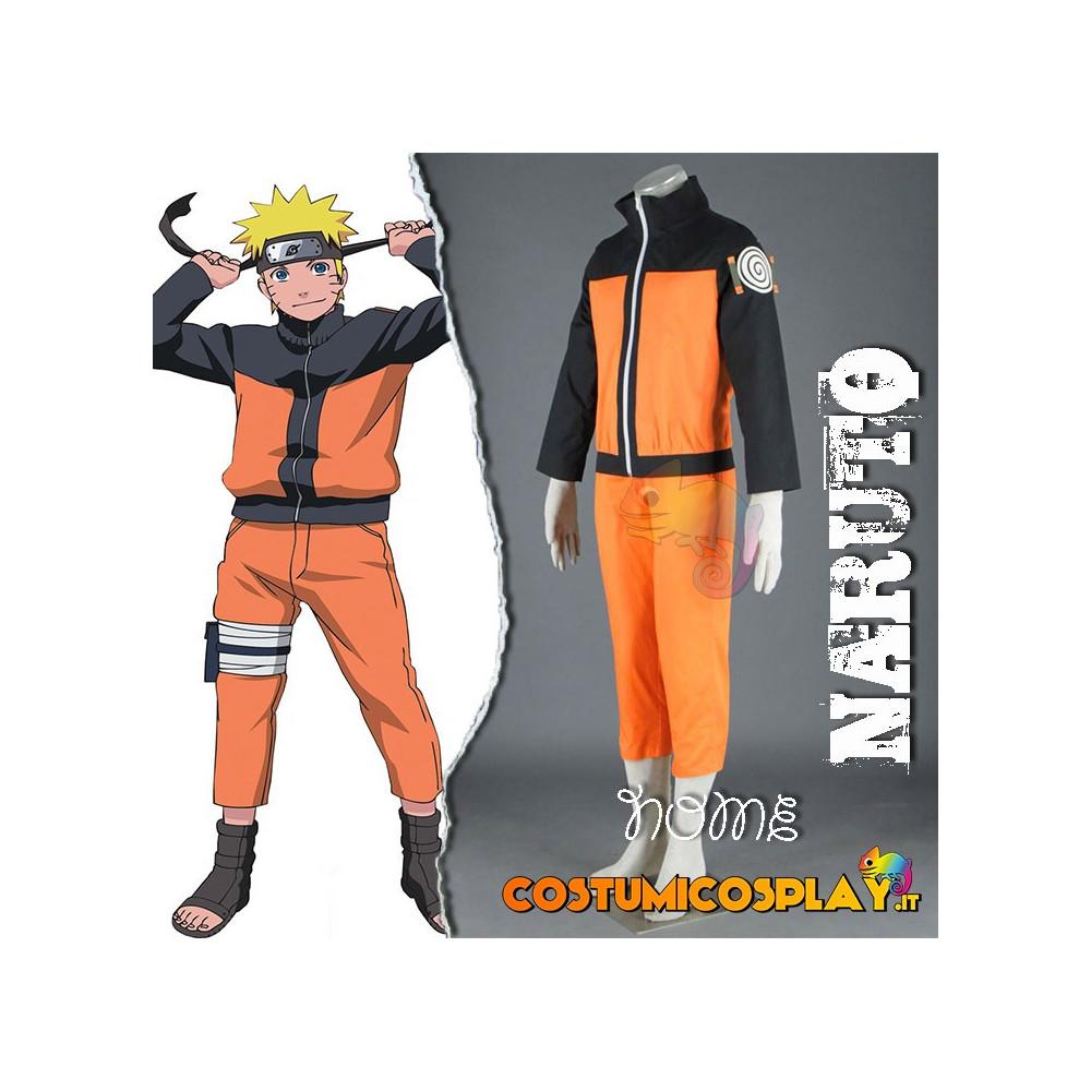 Costume Cosplay Naruto Uzumaki Hokage Shippuden