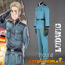 Costume Cosplay Ludwig Beilschmidt