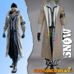 Costume cosplay Final Fantasy XIII Snow