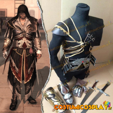Kit completo cosplay Ezio Auditore