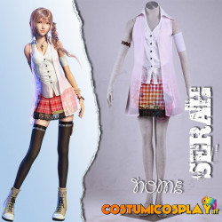 Costume Cosplay Final Fantasy XIII Serah