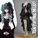Costume Cosplay Hitsune Miku Vocaloid La tomba del Drago Scarlatto