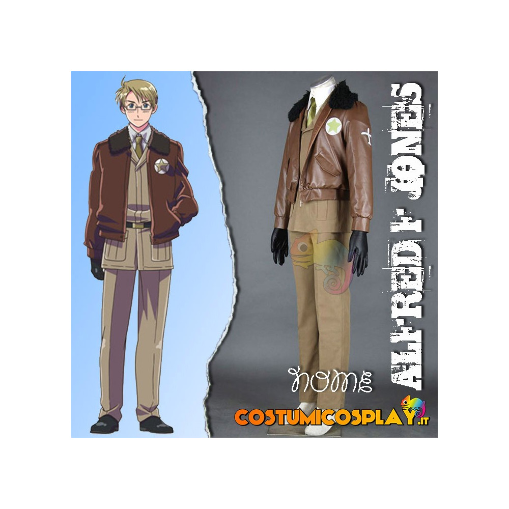 Costume Cosplay Alfred F Jones