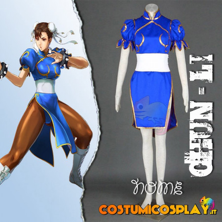 Costume Cosplay Chun-Li