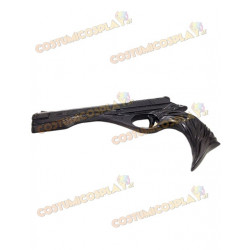 Accessorio cosplay pistola nera Dante Devil May Cry