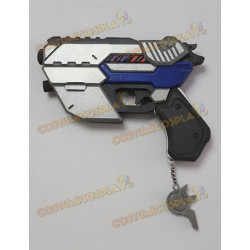 Accessorio cosplay pistola D.Va Overwatch