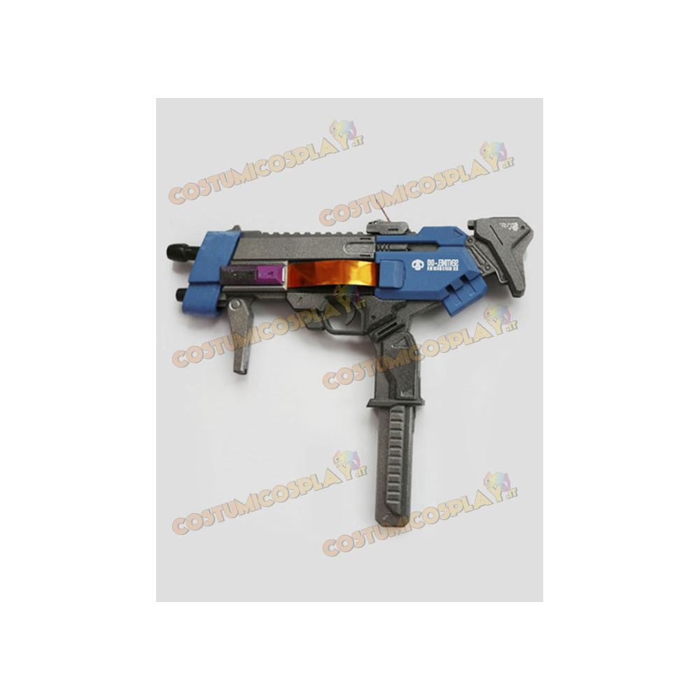 Accessorio cosplay pistola Sombra Overwatch