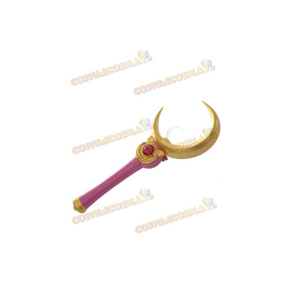 Accessorio cosplay scettro Sailor Moon