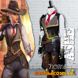 Costume Cosplay Ashe da Overwatch