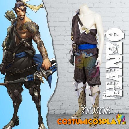 Costume Cosplay Hanzo da Overwatch