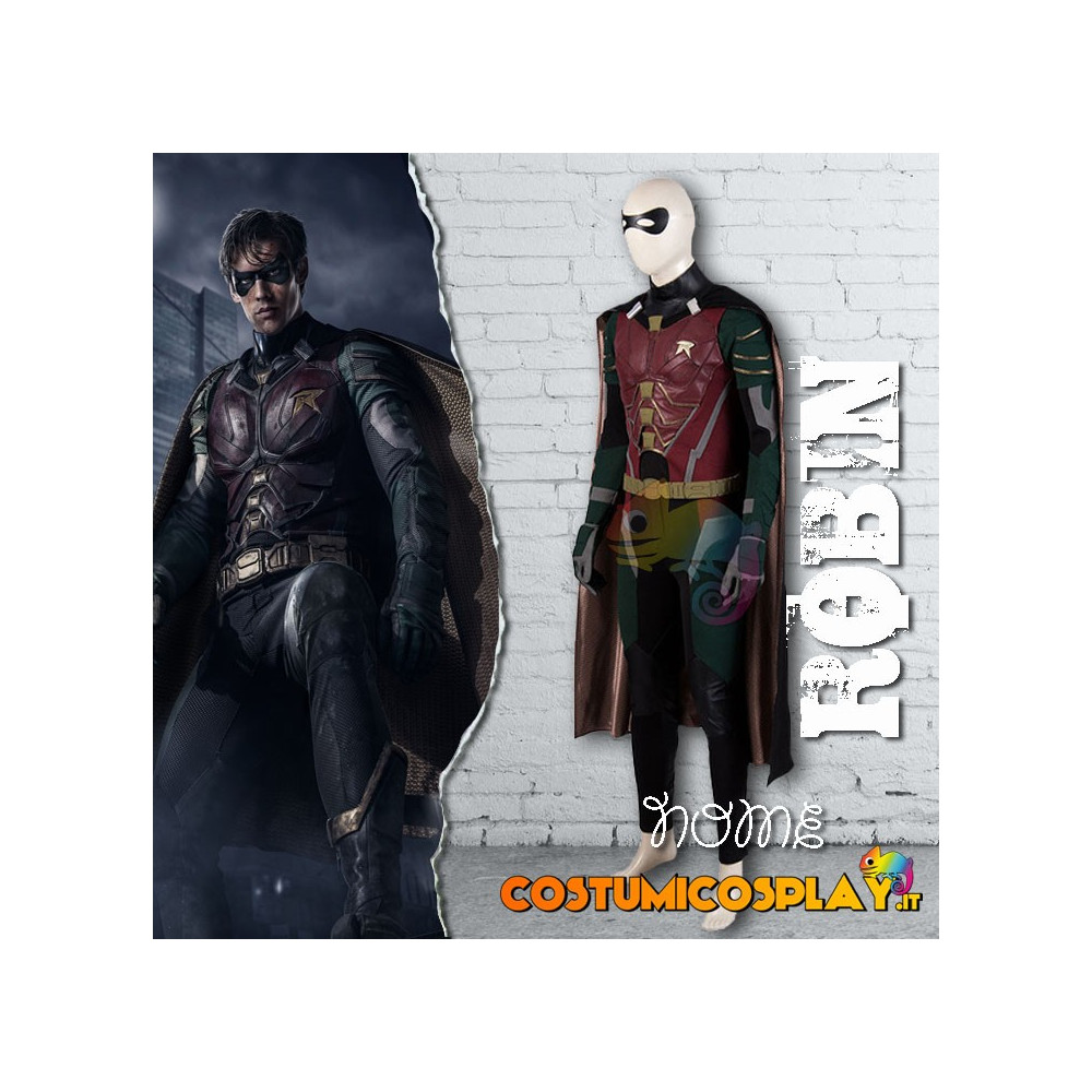 Costume Cosplay Robin da The Titan Robin Nightwing