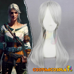Parrucca cosplay Ciri the witcher