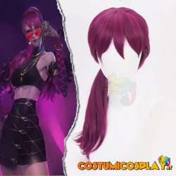 Parrucca cosplay Evelynn da League of Legends