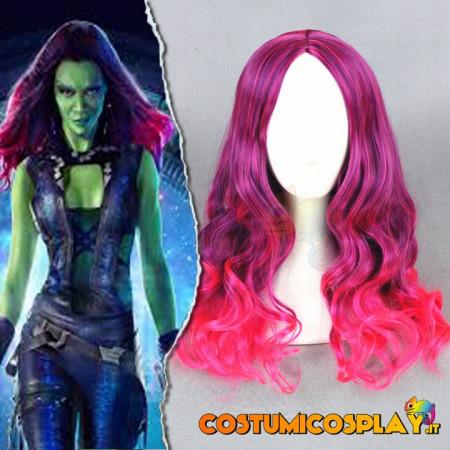 Parrucca cosplay Gamora