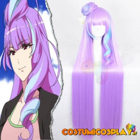 Parrucca cosplay Mikumo Guynemer