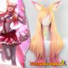 Parrucca cosplay Ahri da Star Guardian League of Legends