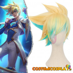 Parrucca cosplay Ezreal Star Guardian League of Legends
