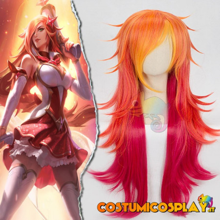 Parrucca cosplay Miss Fortune Star Guardian League of Legends