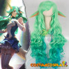 Parrucca cosplay Soraka Star Guardian League of Legends