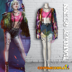 Costume Cosplay Harley Quinn Birds of Prey